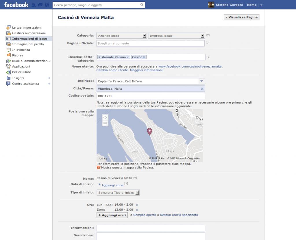 Anatomia di una pagina Facebook - 4